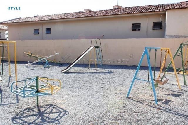 Casa no Condomínio Canachuê com 3 dormitórios à venda, 67 m² por R$ 250.000 - Jardim Santa - Foto 14