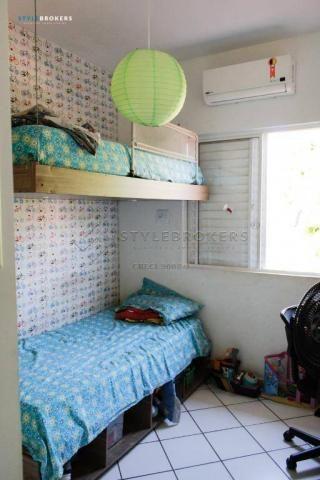 Casa no Condomínio Canachuê com 3 dormitórios à venda, 67 m² por R$ 250.000 - Jardim Santa - Foto 8