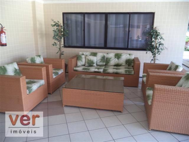 Apartamento à venda, 112 m² por R$ 480.000,00 - Engenheiro Luciano Cavalcante - Fortaleza/ - Foto 6