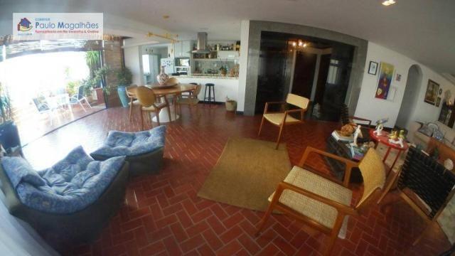 Cobertura com 4 dormitórios 3 suítes  vista a mar nascente à venda, 575m² total m² Rio Ver - Foto 4