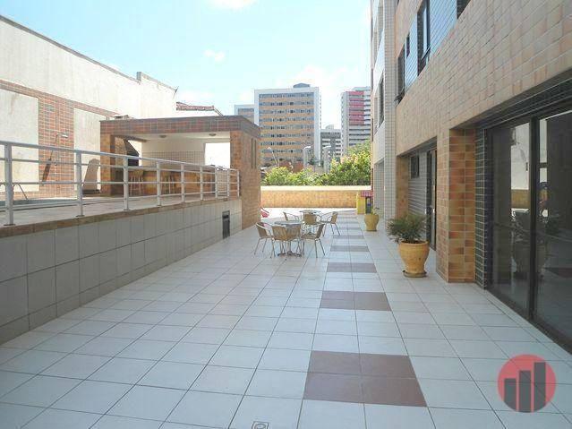 Apartamento com 3 dormitórios para alugar, 63 m² por R$ 1.900/mês - Mucuripe - Fortaleza/C - Foto 2