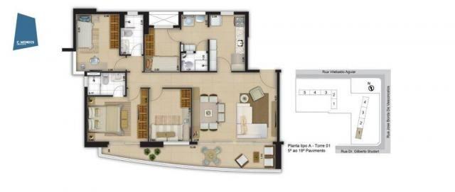 Apartamento com 3 dormitórios à venda, 71 m² por R$ 455.000,00 - Cocó - Fortaleza/CE - Foto 17