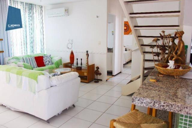 Apartamento Duplex para alugar, 130 m² por R$ 4.000,00/mês - Mucuripe - Fortaleza/CE - Foto 7