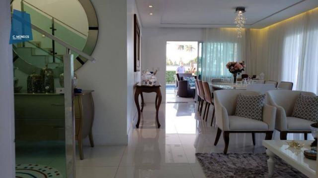Casa no Alphaville Fortaleza com 4 dormitórios à venda, 310 m² por R$ 1.800.000 - Cararu - - Foto 16