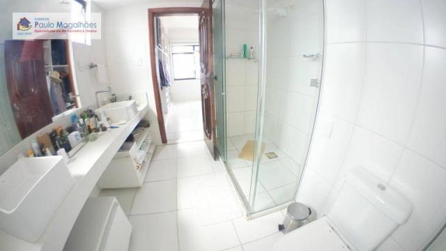 Cobertura com 4 dormitórios 3 suítes  vista a mar nascente à venda, 575m² total m² Rio Ver - Foto 10