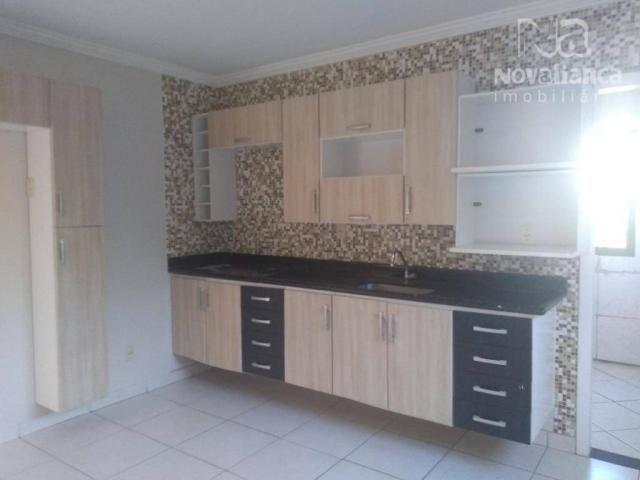 Casa com 4 dormitórios para alugar, 240 m² por R$ 1.400,00/mês - Riviera da Barra - Vila V - Foto 13