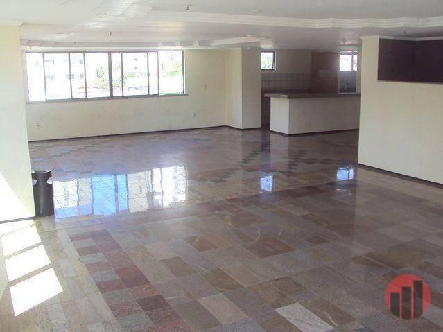 Apartamento com 1 dormitório para alugar, 47 m² por R$ 1.000,00/mês - Praia de Iracema - F - Foto 4
