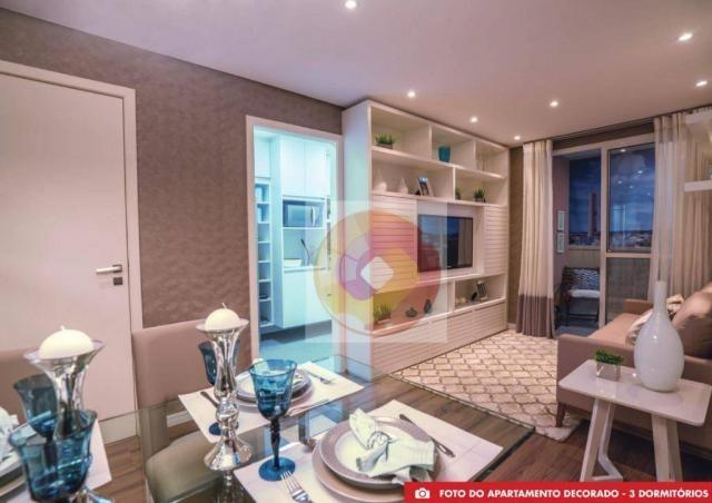 Apartamento com 2 dormitórios à venda, 51 m² por R$ 240.000,00 - Neoville - Curitiba/PR - Foto 9