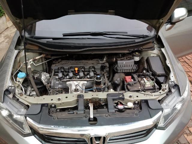 Civic LXR 2.0 Flex 2014 66mil km - Foto 11