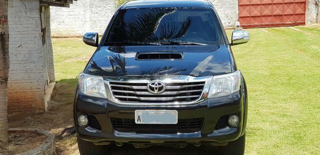 TOYOTA HILUX CD SRV D4-D 4X4 3.0 TDI Diesel Aut - Foto 3