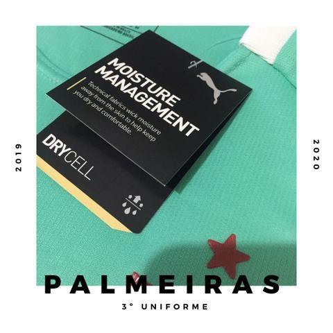 Camisas do Palmeiras 2019 2020 - Foto 4
