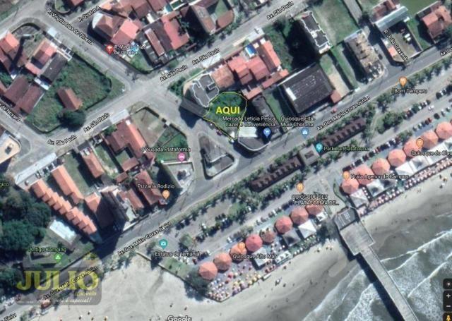 Terreno lado praia, 690 m² por R$ 360.000 - Balneário Itaguaí - Mongaguá/SP - Foto 5