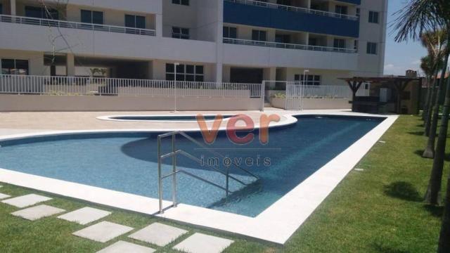 Apartamento para alugar, 61 m² por R$ 1.600,00/mês - Dunas - Fortaleza/CE - Foto 9