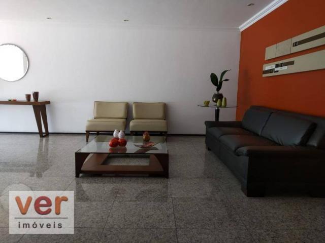 Apartamento com 5 dormitórios à venda, 211 m² por R$ 800.000,00 - Guararapes - Fortaleza/C - Foto 20