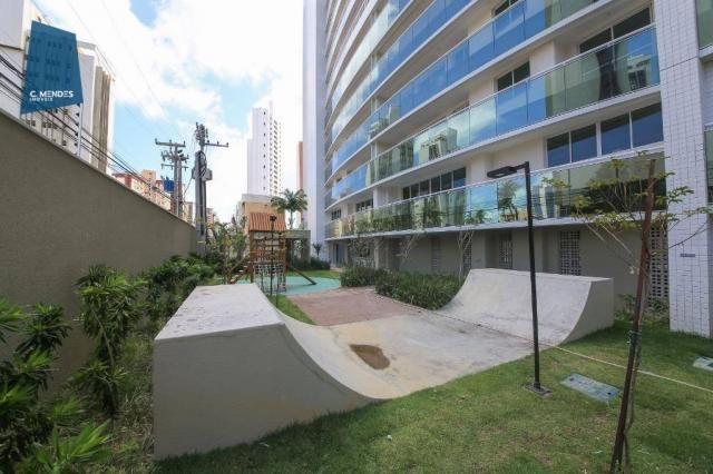 Apartamento com 3 dormitórios à venda, 71 m² por R$ 455.000,00 - Cocó - Fortaleza/CE - Foto 7