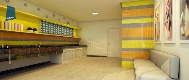 Apartamento com 3 dormitórios à venda, 71 m² por R$ 455.000,00 - Cocó - Fortaleza/CE - Foto 16