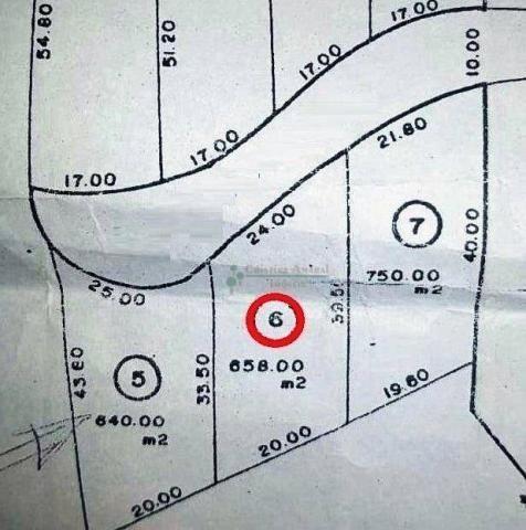 Terreno à venda, 658 m² por R$ 250.000,00 - Comary - Teresópolis/RJ - Foto 2
