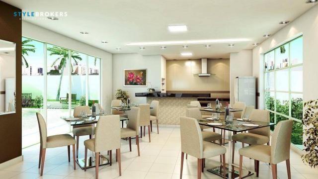 Apartamento no Edifício Saint Riom com 3 dormitórios à venda, 112 m² por R$ 450.000 - Migu - Foto 3