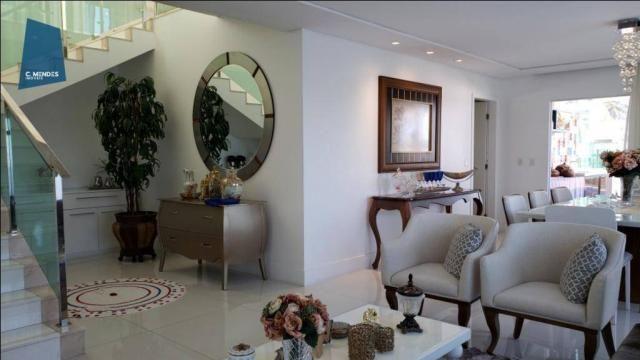 Casa no Alphaville Fortaleza com 4 dormitórios à venda, 310 m² por R$ 1.800.000 - Cararu - - Foto 8