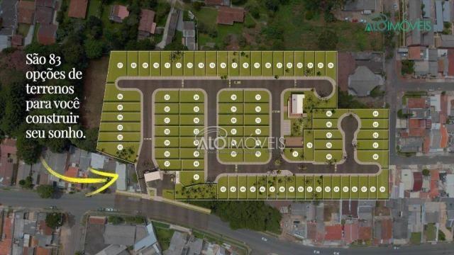 Terreno à venda, 127 m² por r$ 179.089,10 - pinheirinho - curitiba/pr - Foto 2