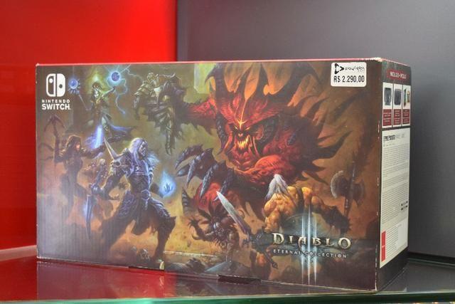 Nintendo Switch Console Diablo III Limited Edition - Produto Novo, Lacrado e com Garantia - Foto 2