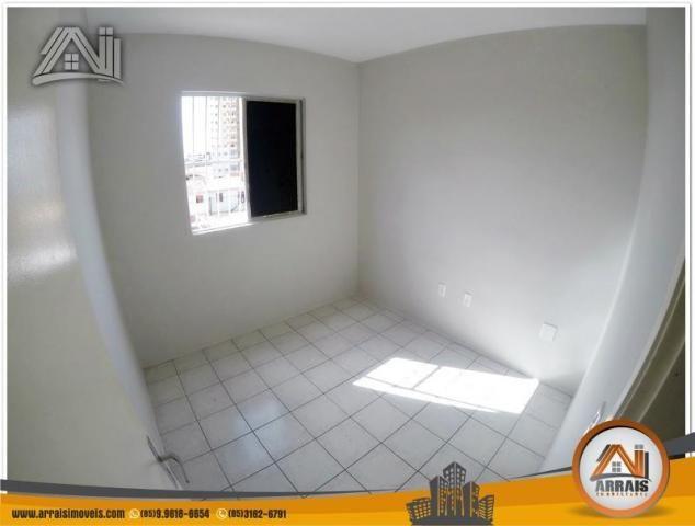 Apartamento com 3 dormitórios à venda, 70 m² por R$ 240.000,00 - Montese - Fortaleza/CE - Foto 12