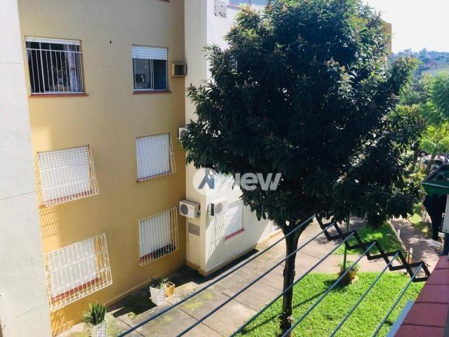 Apartamento com 2 dormitórios à venda, 41 m² por r$ 135.000 - canudos - novo hamburgo/rs - Foto 3