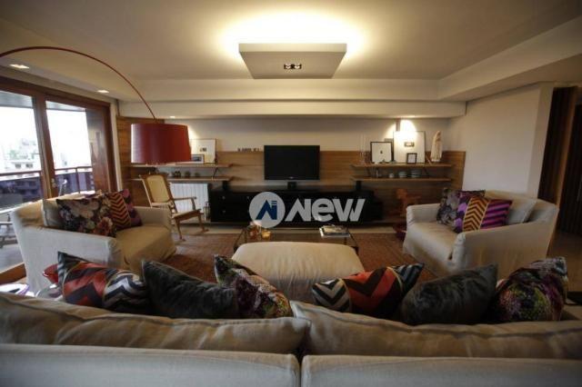 Apartamento com 3 dormitórios à venda, 292 m² por r$ 2.300.000 - centro - novo hamburgo/rs