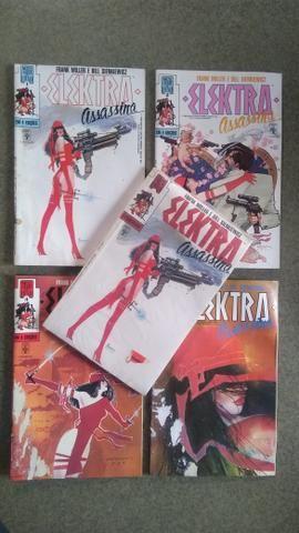 Elektra Assassina - Mini Série 4 Edições + Encadernada