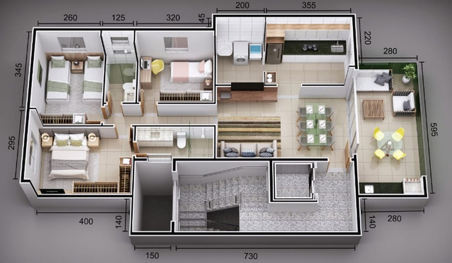 Apartamento Ipatinga, A239, 3 Qts/suíte, 100 m², sac. gourmet. Elev. 2 VGS.Valor 285 Mil - Foto 2