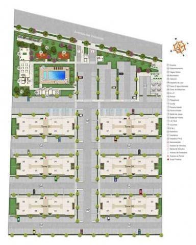 Spazio Montecarlo - Apartamento de 2 quartos na Região do Jardim América, Maringá - PR - I - Foto 20