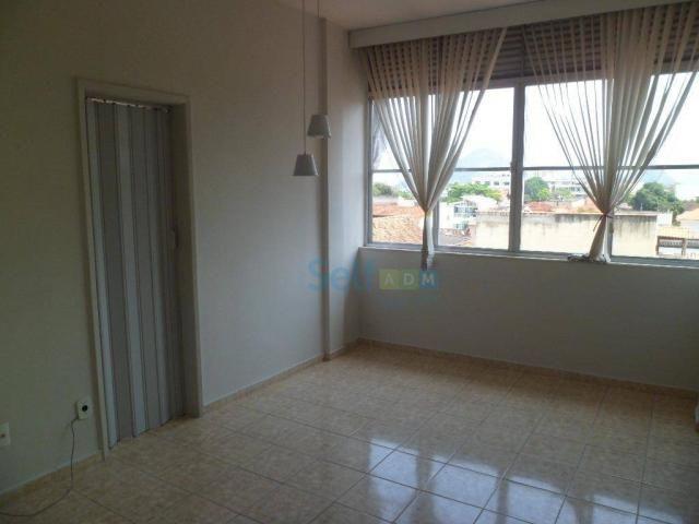 Apartamento com 1 dormitório para alugar, 36 m² - São Francisco - Niterói/RJ - Foto 3
