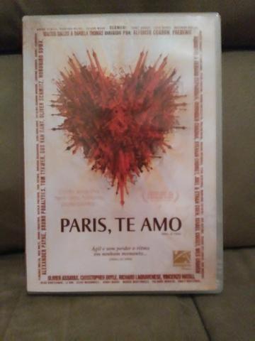 DVD (filme): Paris, te amo