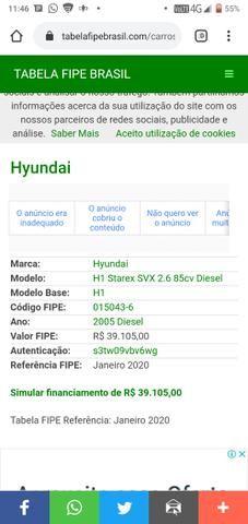Van H1 Hyundai starex 2005 - Foto 7