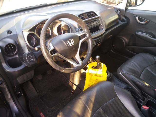 Honda FIT LX com couro - Foto 3