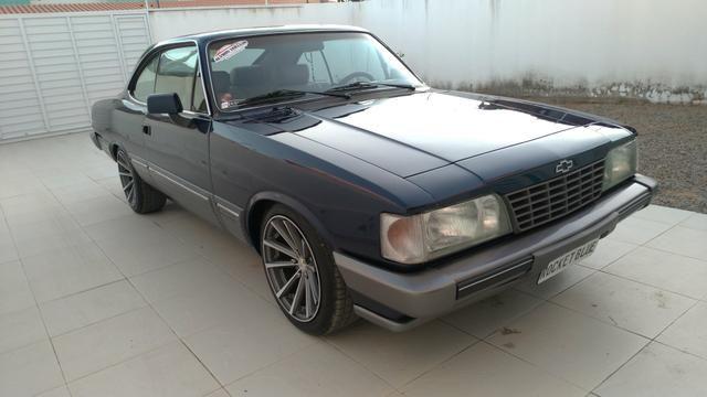 Opala Coupe diplomata 4.1s 6 cilindros de chassi 1988 versão rara - Foto 3