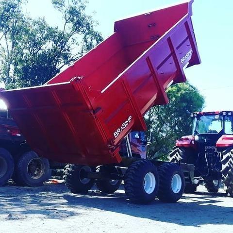 Carreta agrícola brasimp 8 toneladas - Foto 6
