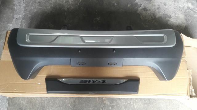 SW4 capa do Parachoque e acabamento da grade frontal - Foto 4