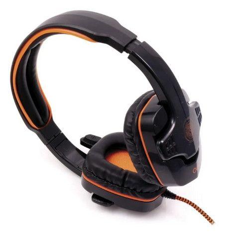 Headset Gamer Oex Target 7.1 pra PC em Fortaleza - Foto 3