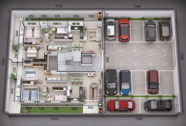 Apartamento Ipatinga, A239, 3 Qts/suíte, 100 m², sac. gourmet. Elev. 2 VGS.Valor 285 Mil - Foto 3
