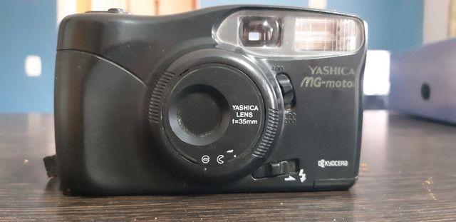 Câmera fotografica Analógica Yashica MG-motor - Foto 5