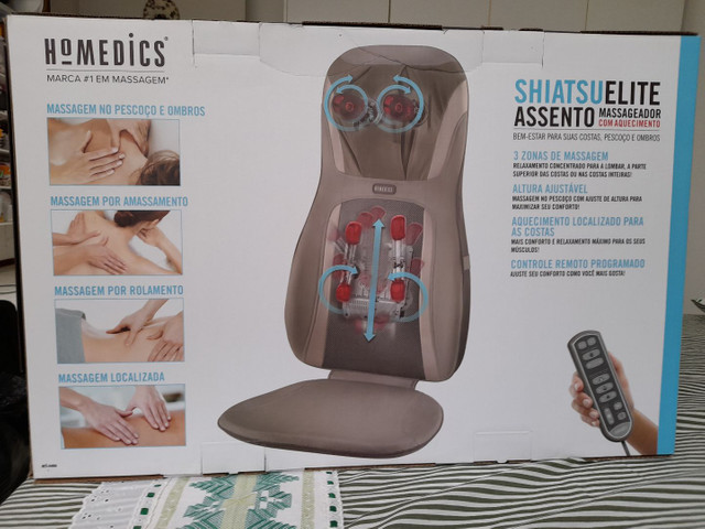Cadeira Massagem Shiatsu Elite Homemedics