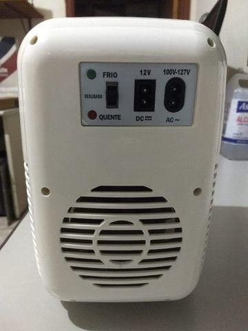 Mini Geladeira Multilaser 127v E 12v - Foto 5