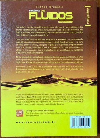 """Livro """"Mecânica dos Fluidos"""" 2ª edição revisada - usado em ótimo estado de conservacão - Foto 2"""