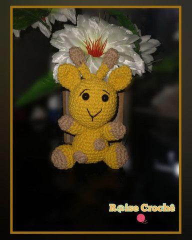 Amigurumi girafinha