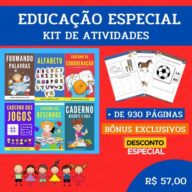 .:: Kit de Atividades :: Kit Educação Especial - Foto 2