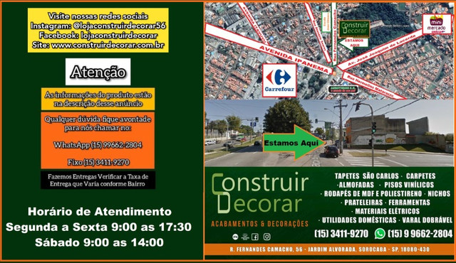 Tapete Edantex Compelo 2,50x3,00 Novo - Foto 6