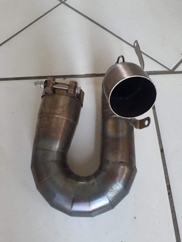 Capacete ls2 evo tri composto, link pipe cbr (ACEITO TROCAS) - Foto 6