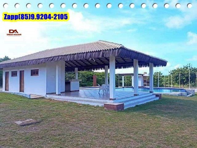 Invista e ligue -Loteamento Condomínio Fechado em Caponga !!!! - Foto 3