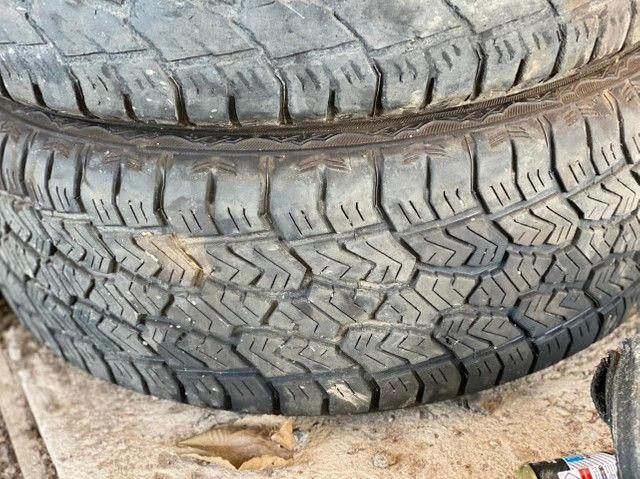 Rodas aro 20 com pneus - Foto 3